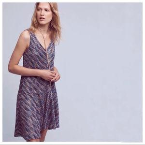 Anthropologie Maeve Westwater Knit Dress